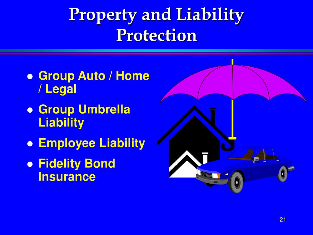 Property and Liability Protection