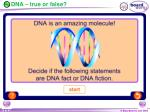 dna true or false