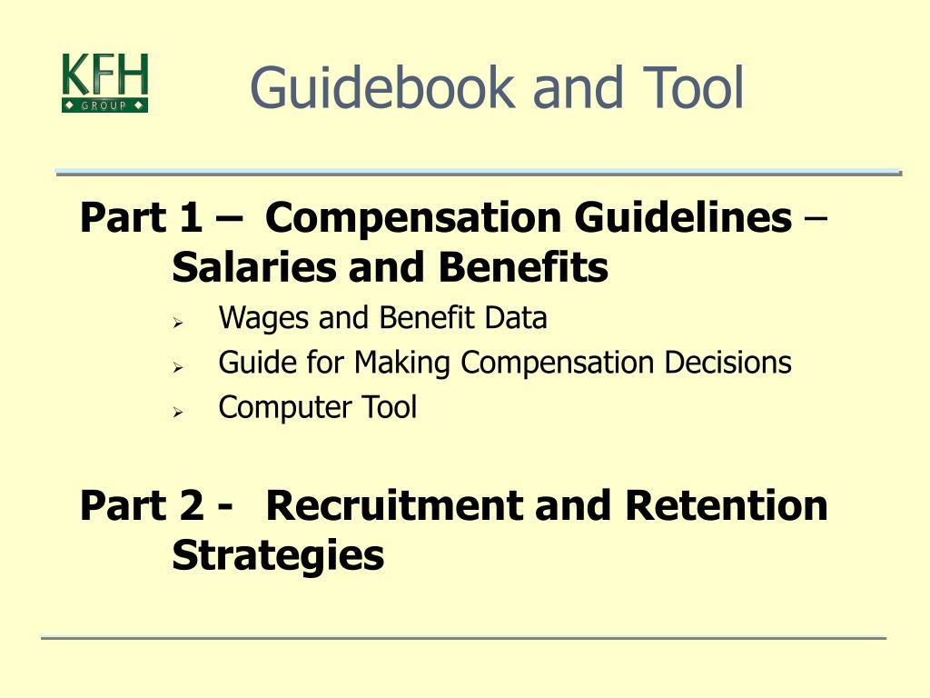 Guidebook and Tool