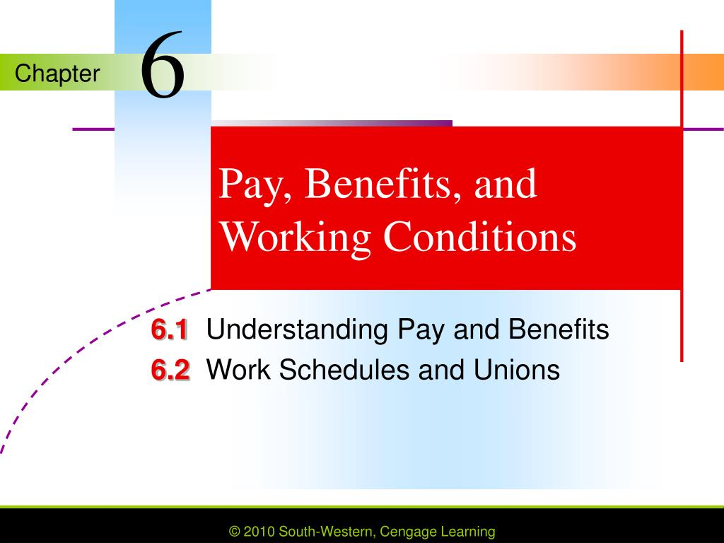 pay benefits and working conditions l.