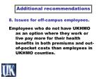 8 issues for off campus employees