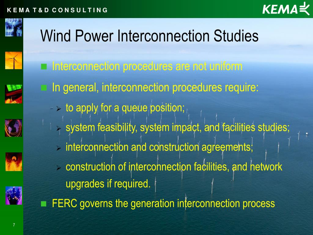 Wind Power Interconnection Studies