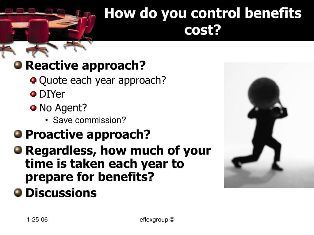 How do you control benefits cost?
