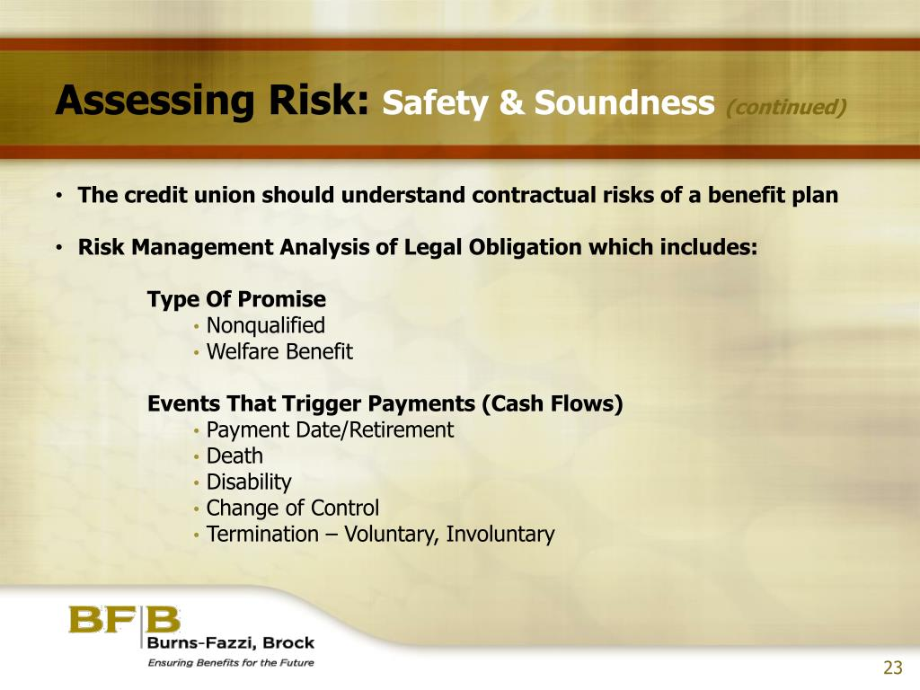 Assessing Risk: