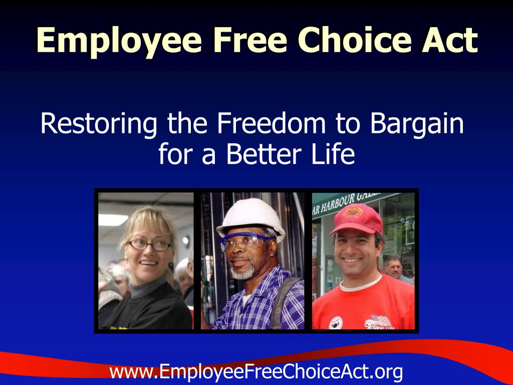 employee free choice act l.
