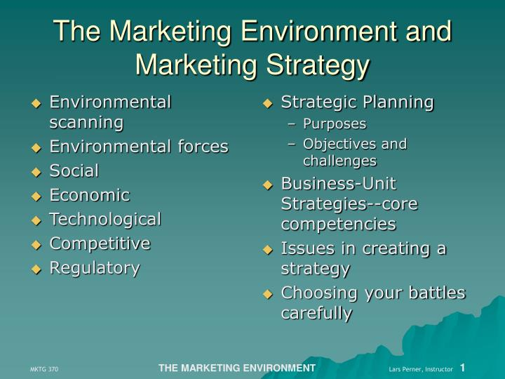 what forces in the marketing environment Marketing environment marketing environment- consists of the actors and forces outside marketing that affect marketing management's ability to develop and maintain successful relationships with its target.