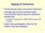 aging of america10