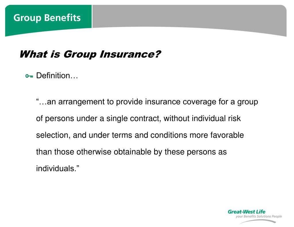 What is Group Insurance?