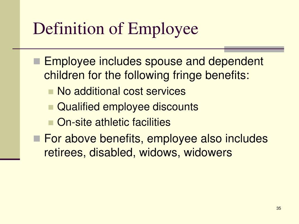 Definition of Employee