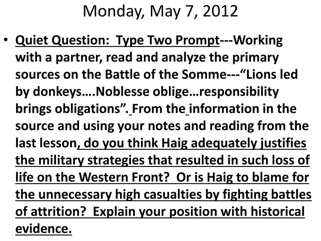 Monday, May 7, 2012