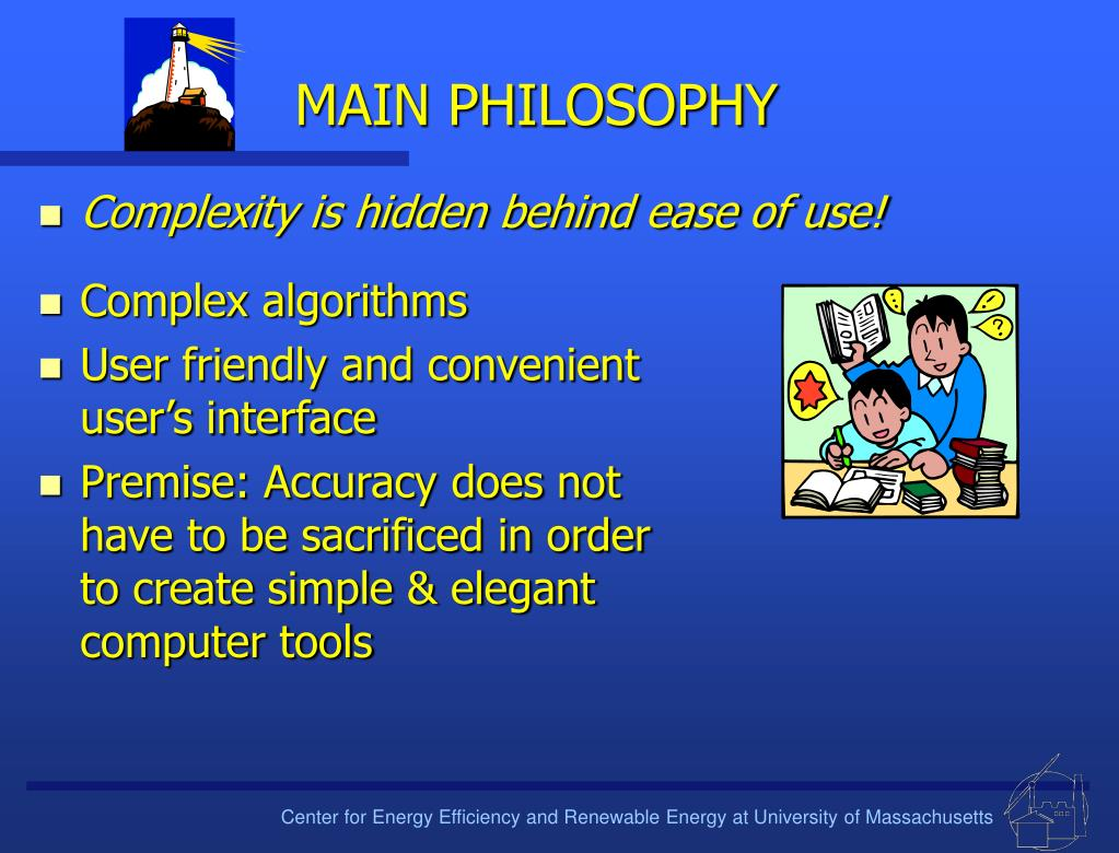 MAIN PHILOSOPHY