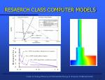 resaerch class computer models