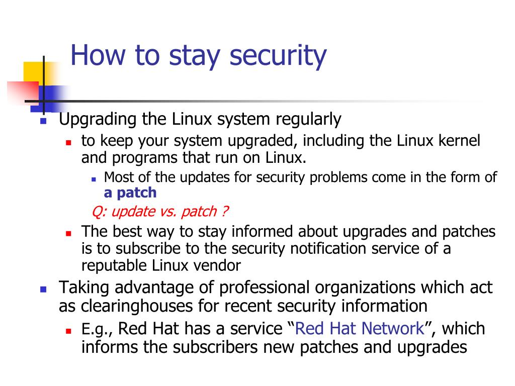 How to stay security