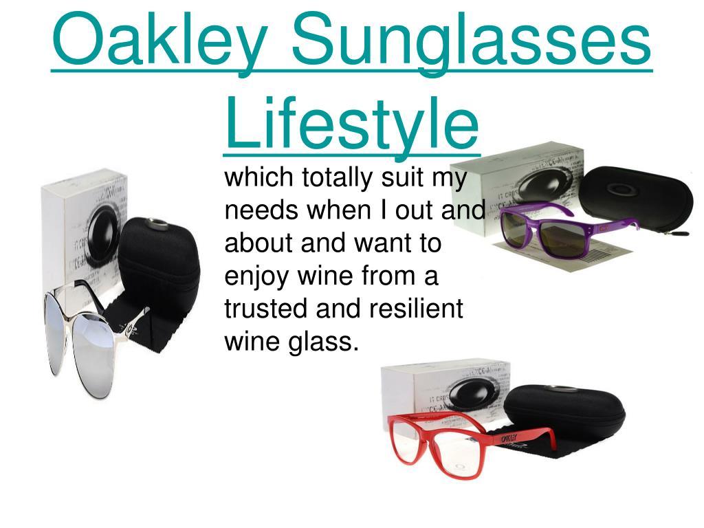 Oakley Sunglasses Lifestyle