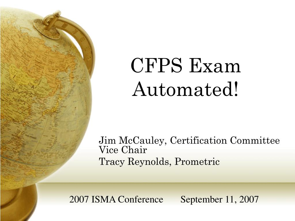 jim mccauley certification committee vice chair tracy reynolds prometric l.