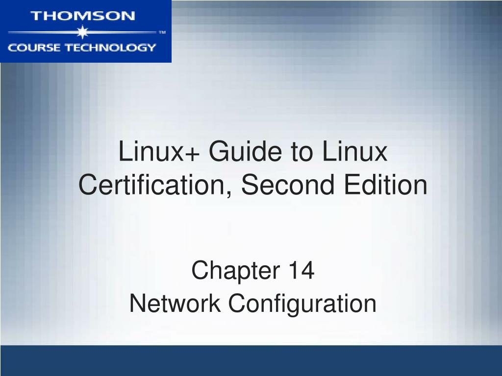 linux guide to linux certification second edition l.