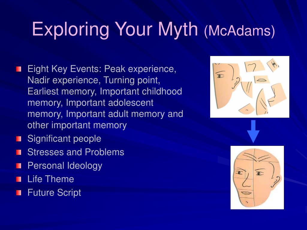 Exploring Your Myth