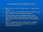 fundamental objectives