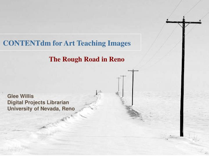 Contentdm for art teaching images