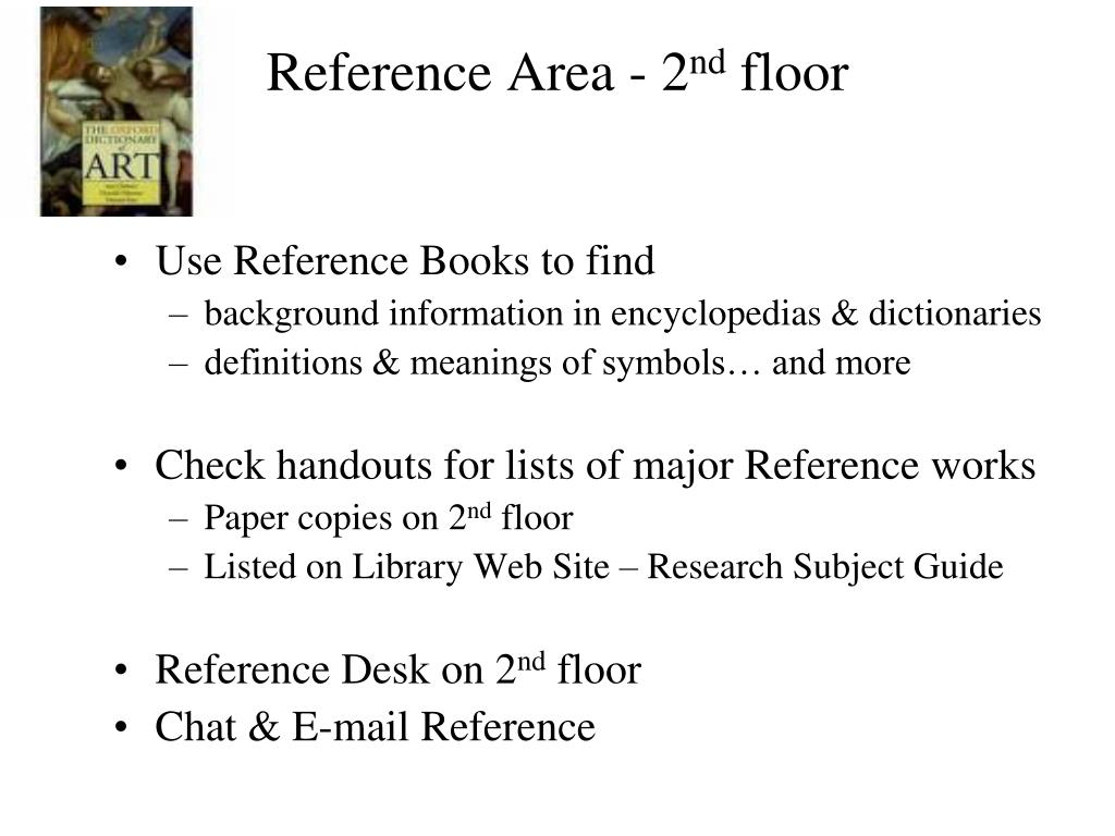 Reference Area - 2