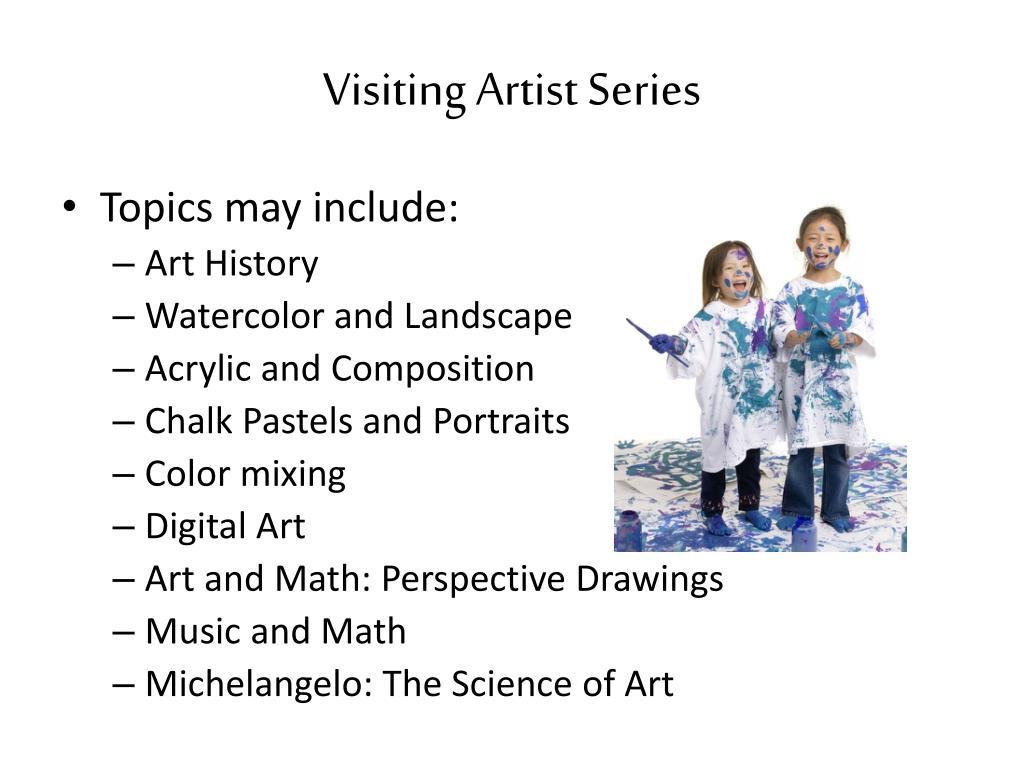 Visiting Artist Series