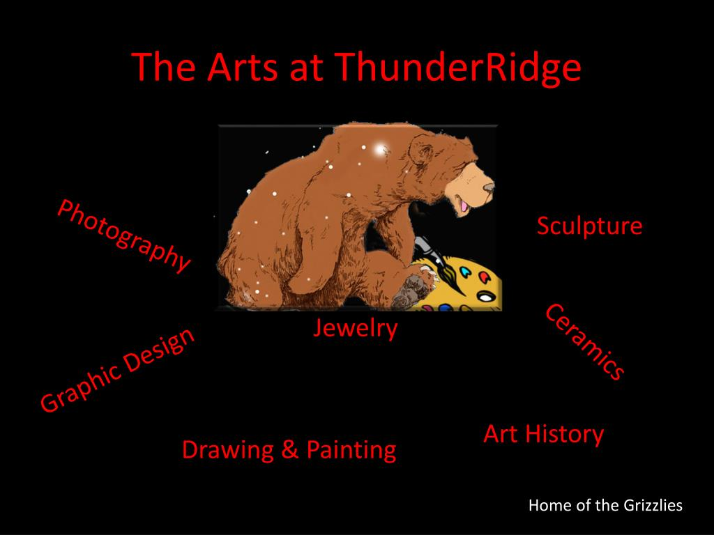the arts at thunderridge l.