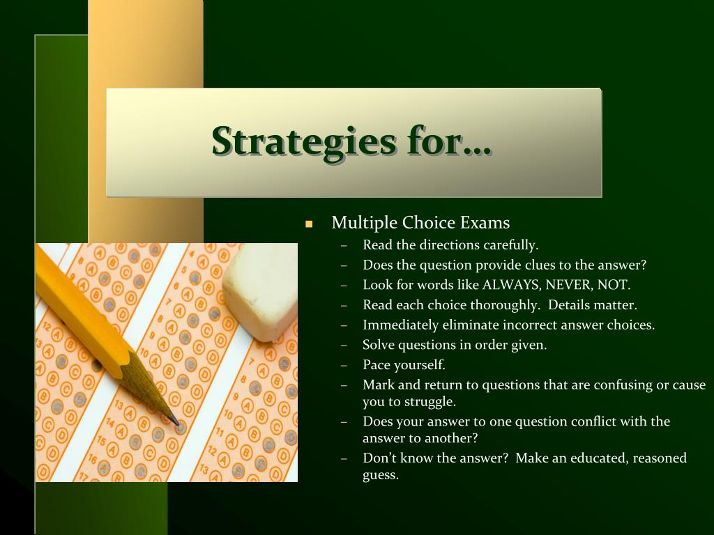 Strategies for…