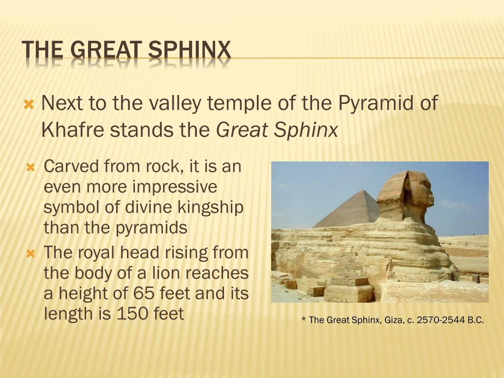 Next to the valley temple of the Pyramid of Khafre stands the
