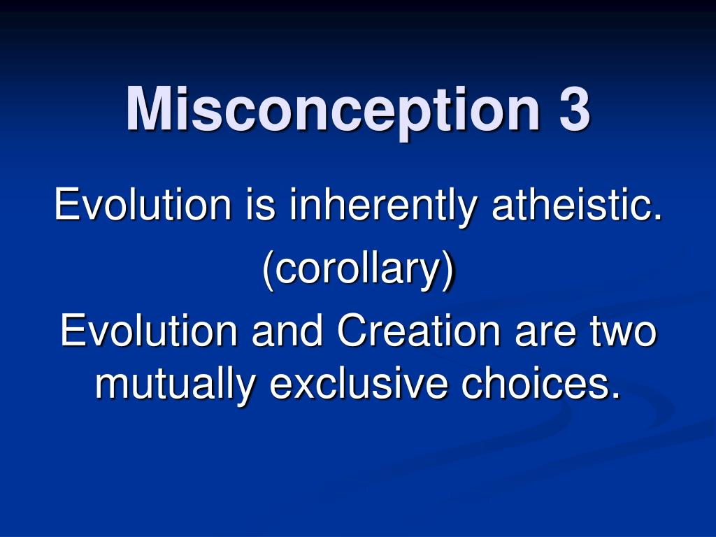 Misconception 3
