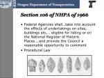 section 106 of nhpa of 1966