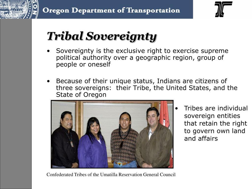 Tribal Sovereignty