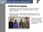 tribal sovereignty
