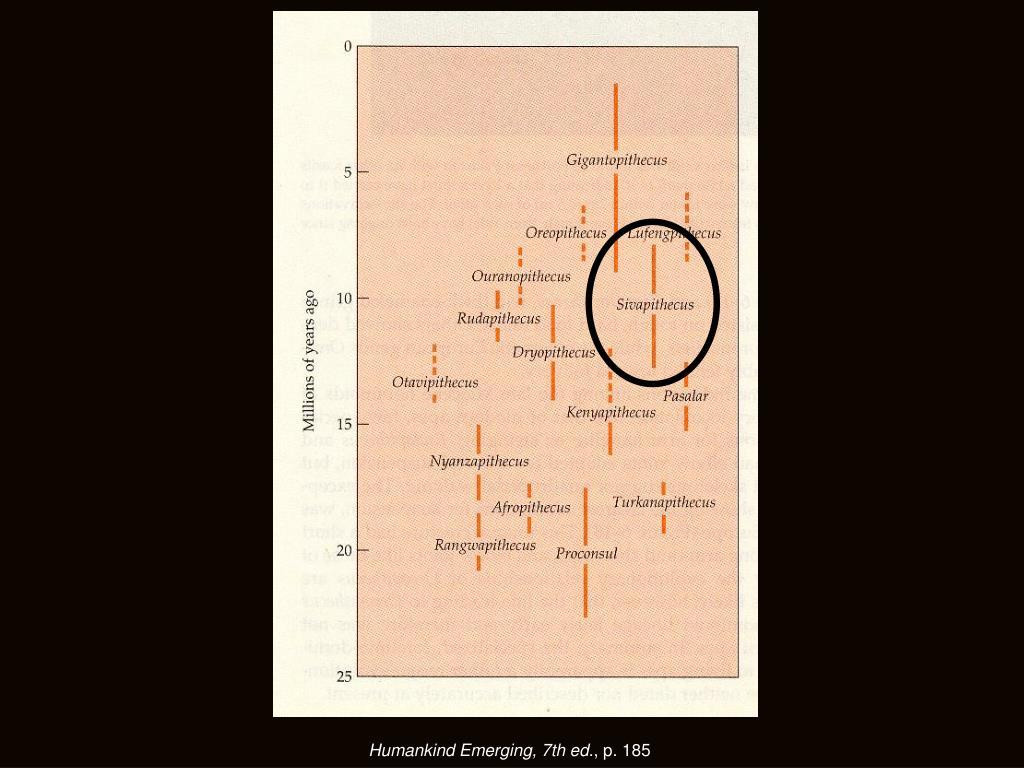 Humankind Emerging, 7th ed