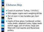 uluburun ship