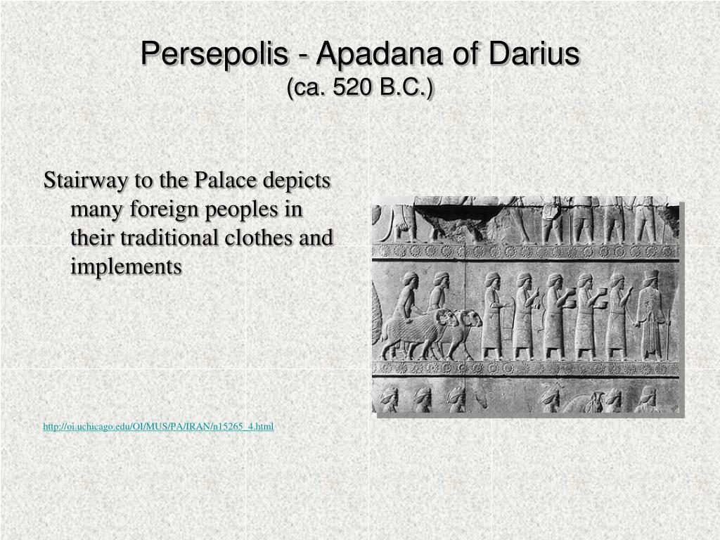Persepolis - Apadana of Darius