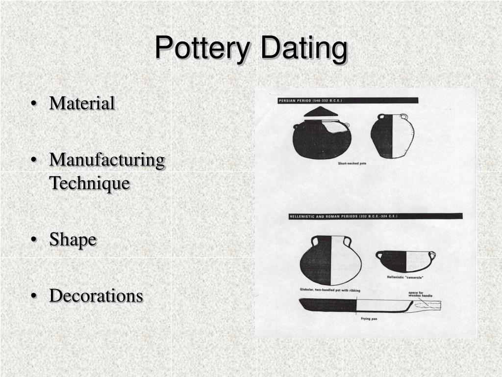 Pottery Dating