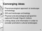 converging ideas