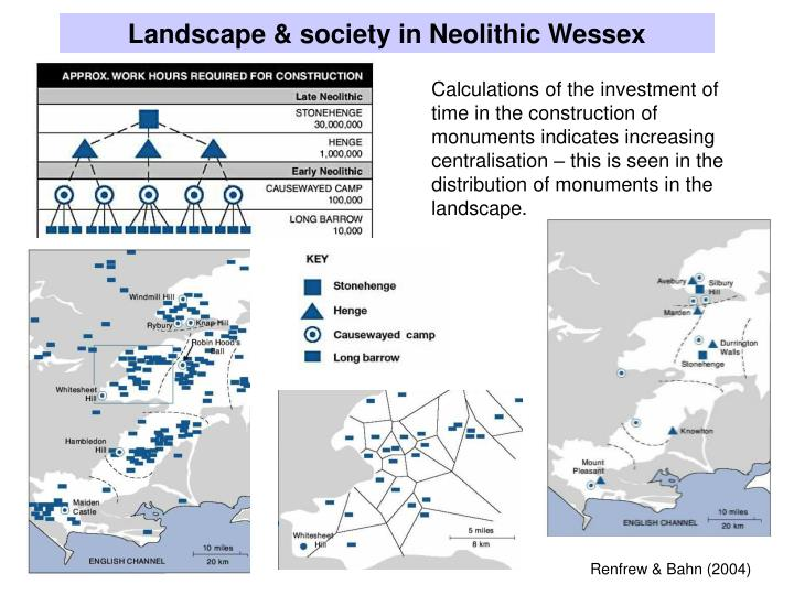 Landscape & society in Neolithic Wessex