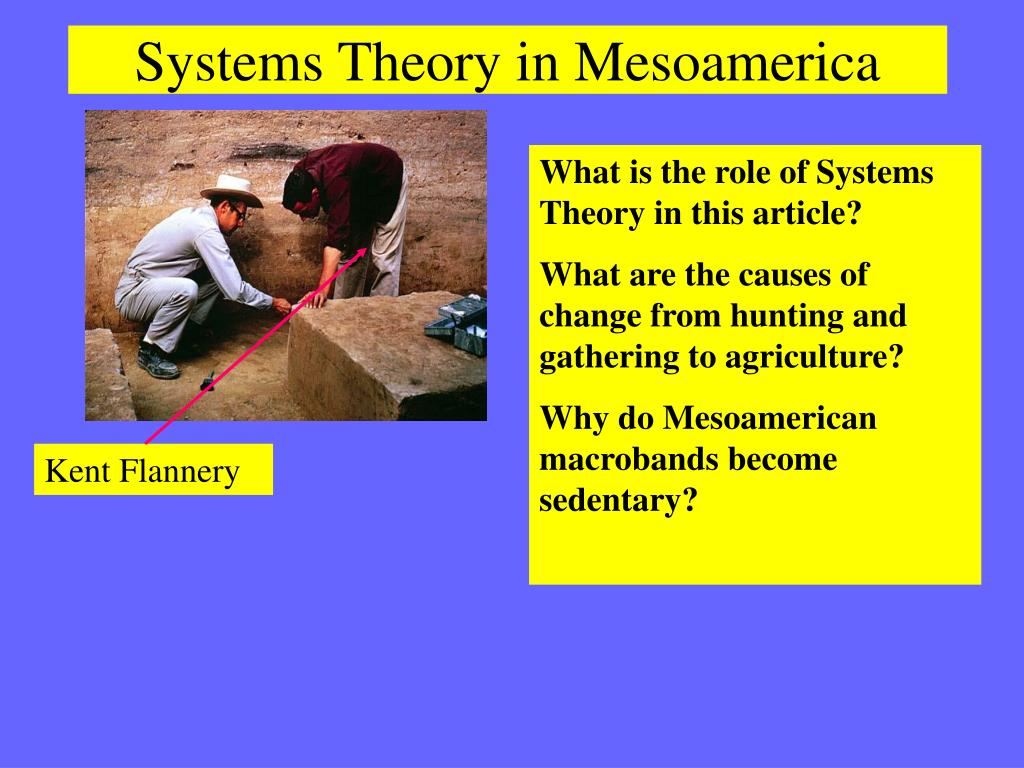 Systems Theory in Mesoamerica