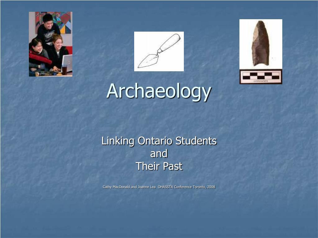 archaeology l.