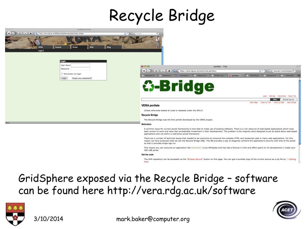 Recycle Bridge