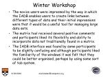 winter workshop19