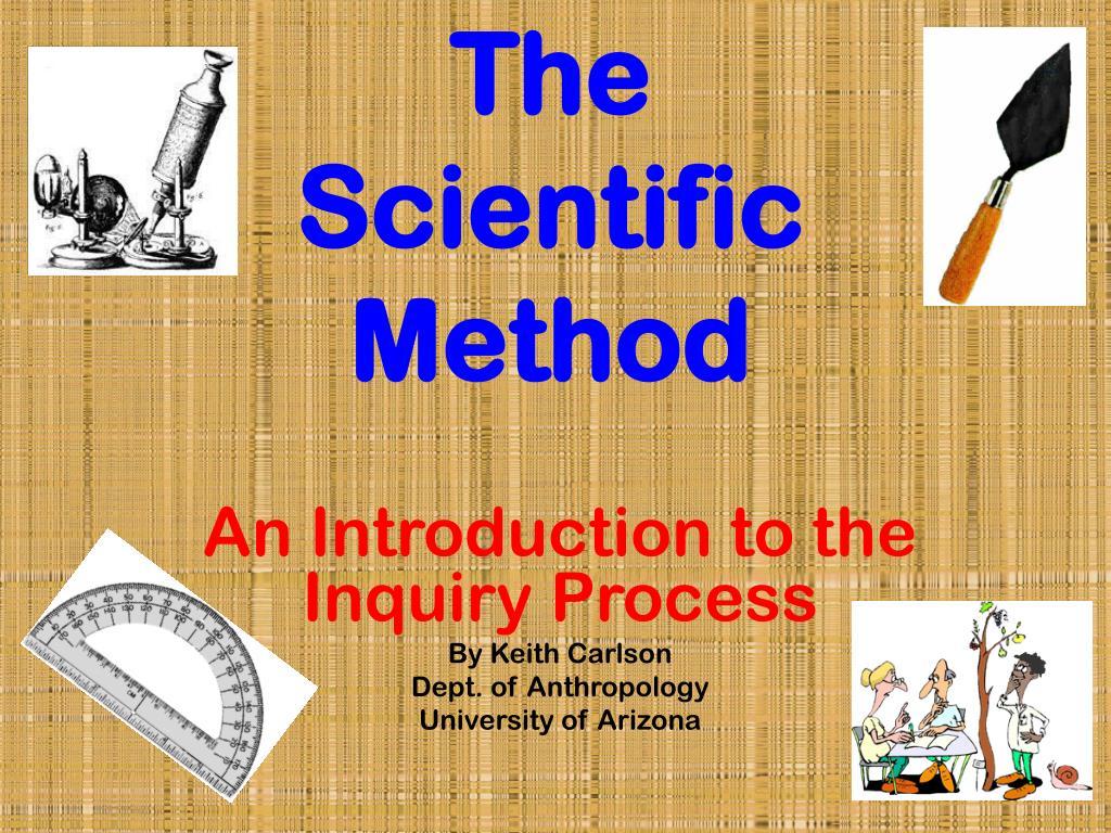 the scientific method l.