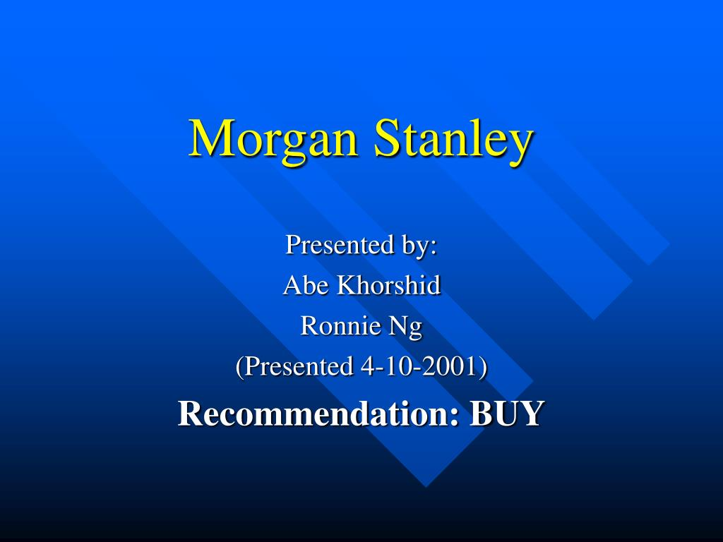 morgan stanley l.