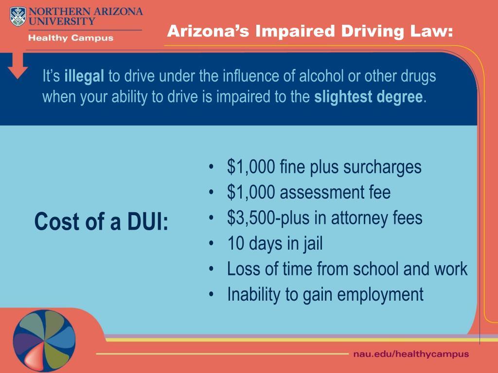 Arizona's Impaired Driving Law: