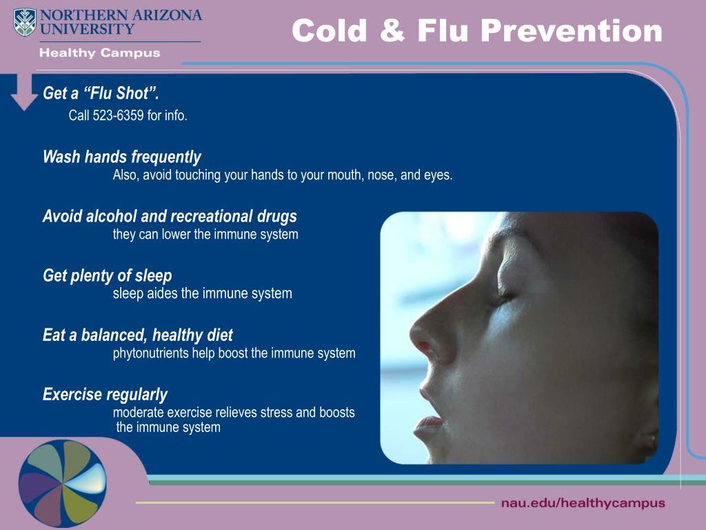 Cold & Flu Prevention