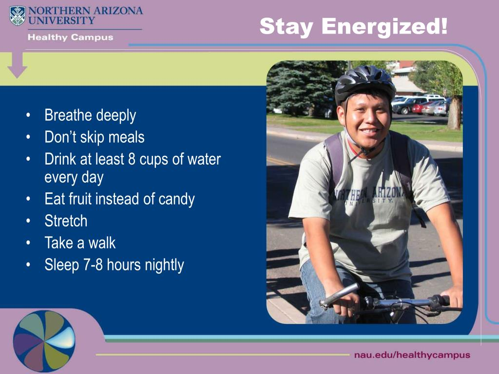 Stay Energized!