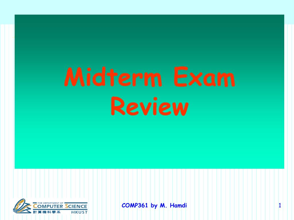 midterm exam review l.