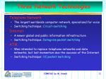 three network technologies