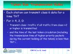 token bus transmission rules
